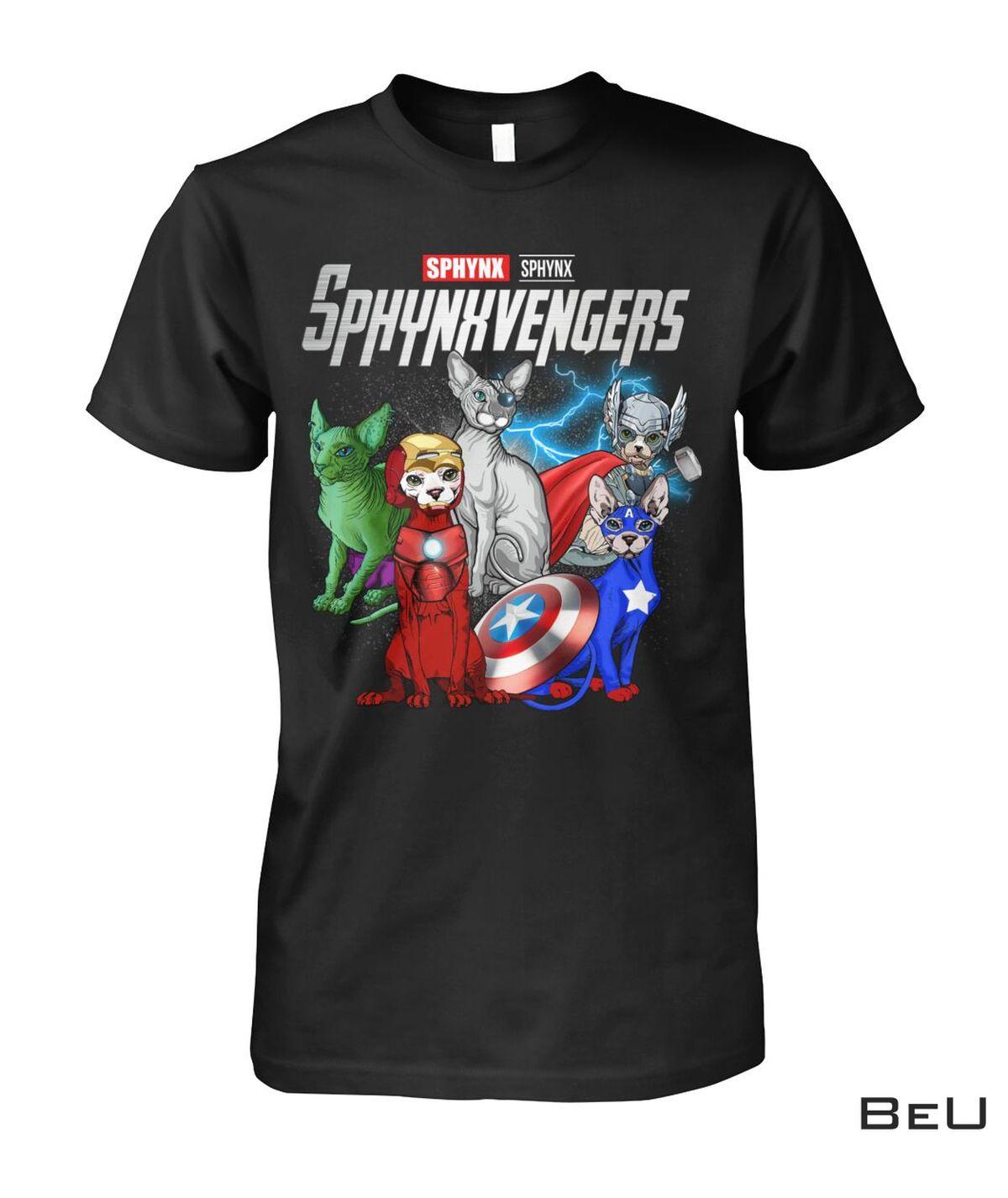 Sphynxvengers Sphynx Cat Avengers Shirt, hoodie, tank top