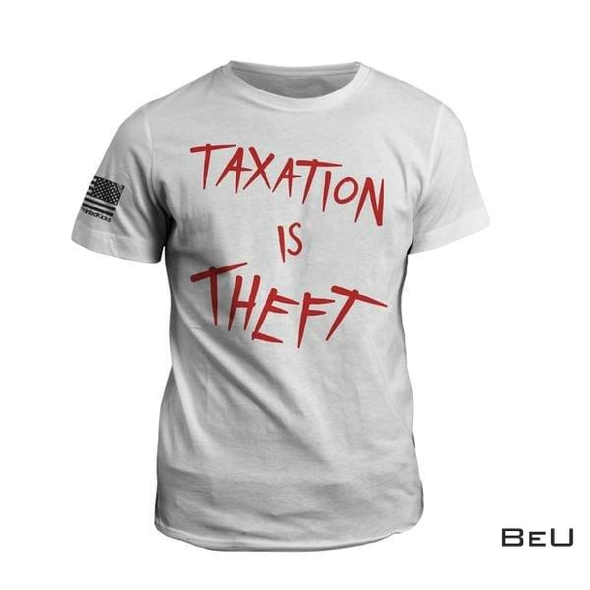 Top Taxation Is Theft Shirt