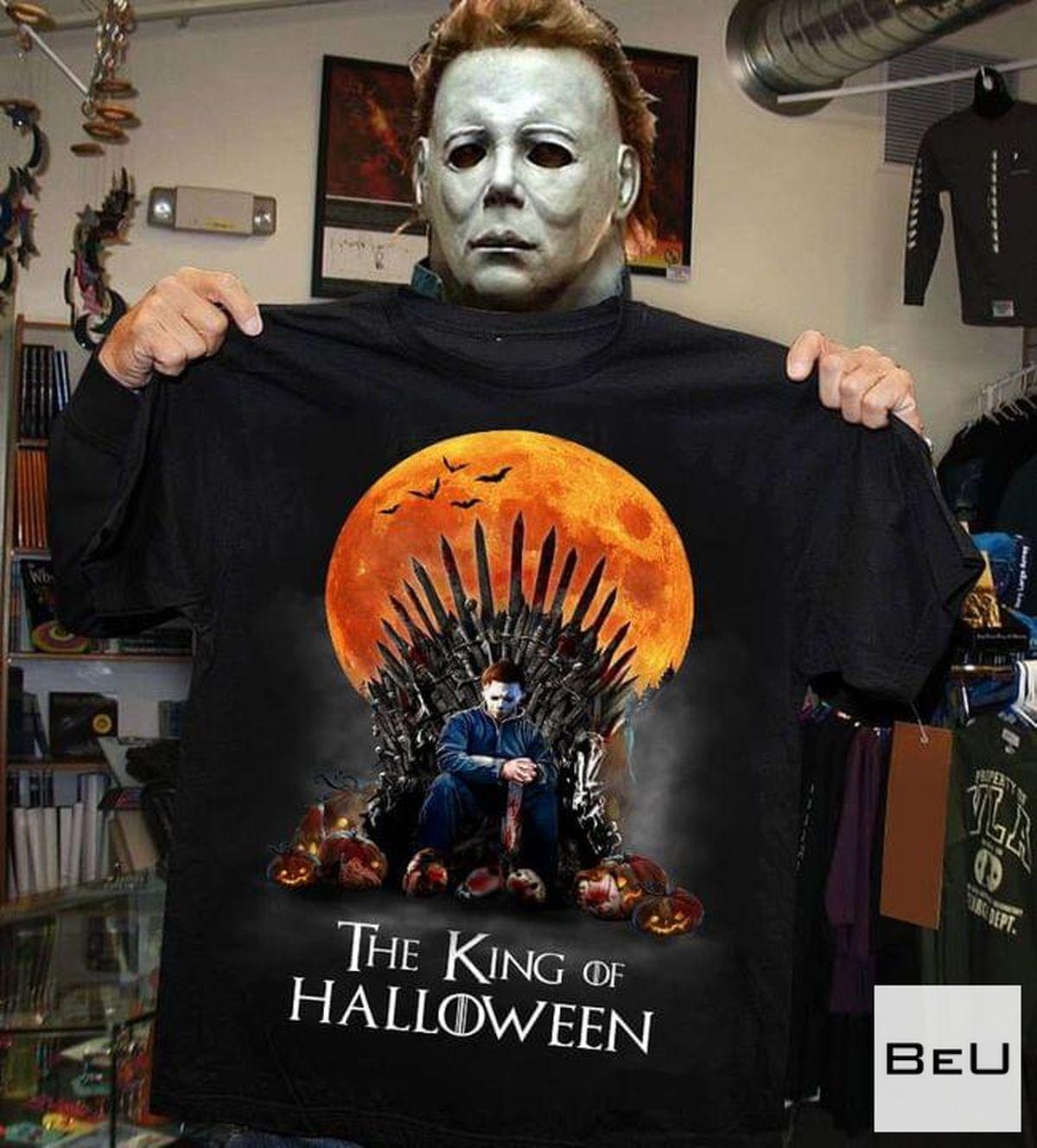 The King Of Halloween Michael Myers Shirt