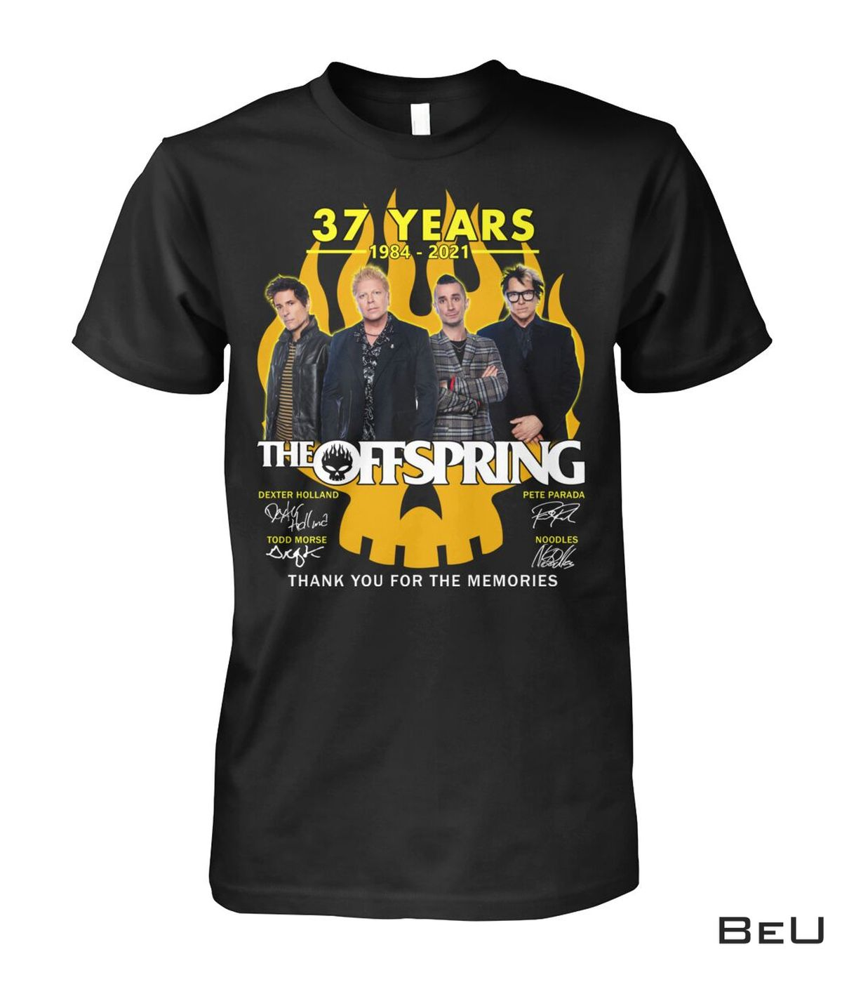 The Offspring 37 Years Thank You For The Memories Shirt, hoodie