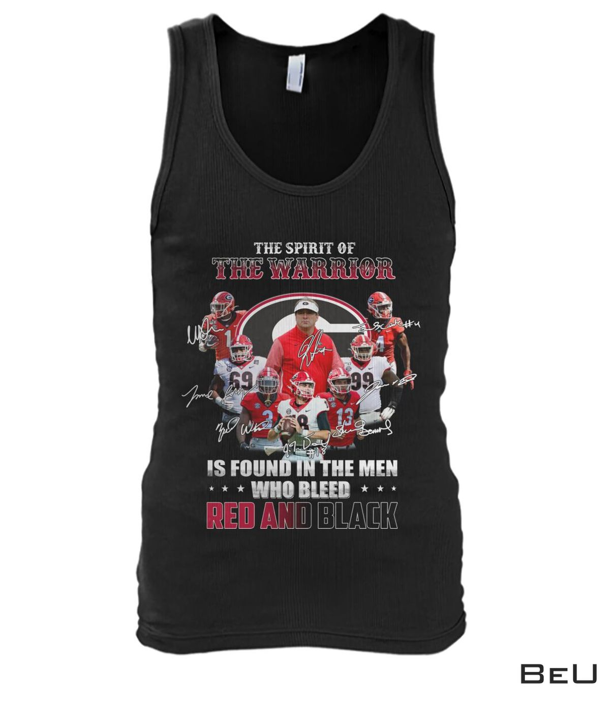 New The Spirit Of The Warrior Is Found In The Men Who Bleed Red And Black Shirt