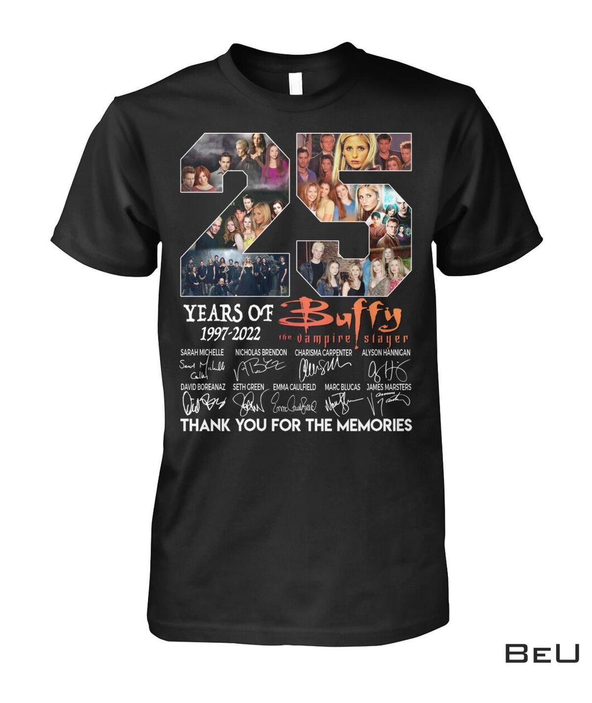 25 Years Of Buffy The Vampire Slayer 1997-2022 Shirt, hoodie, tank top
