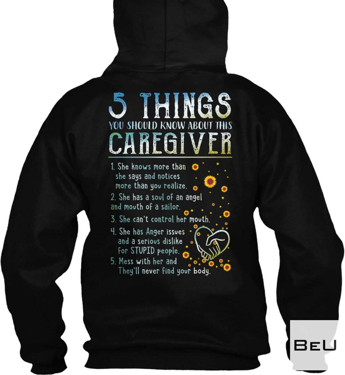 Luxury 5 Things You Should Know About This Caregiver Shirt