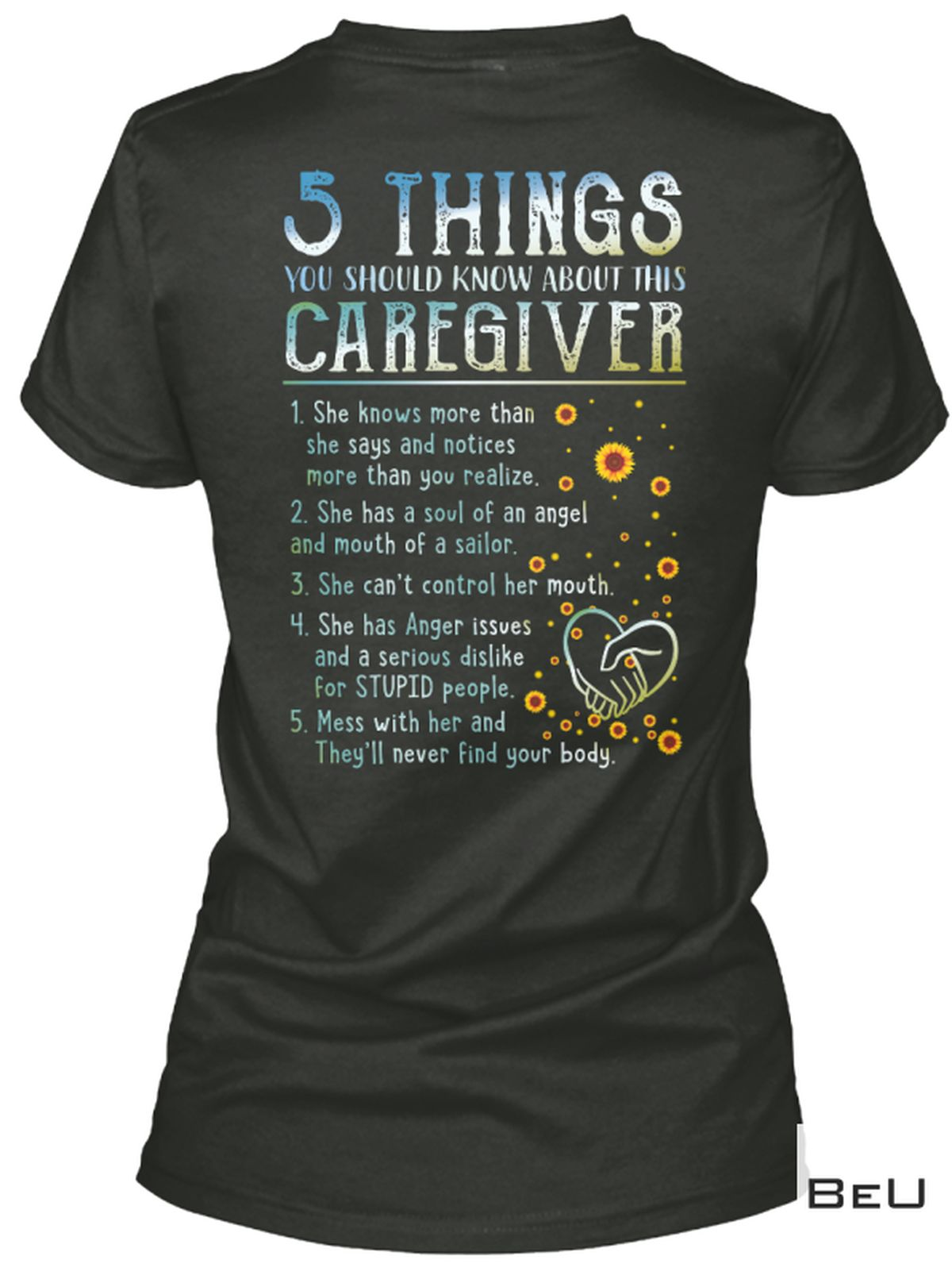 Nice 5 Things You Should Know About This Caregiver Shirt
