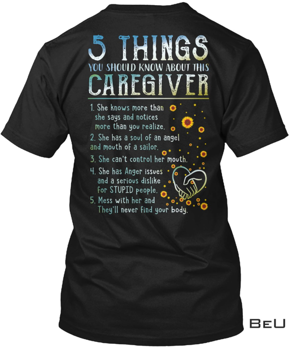 5 Things You Should Know About This Caregiver Shirt, Hoodie, Sweatshirt