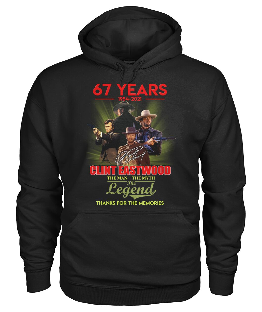 Best Gift 67 Years Clint Eastwood Shirt