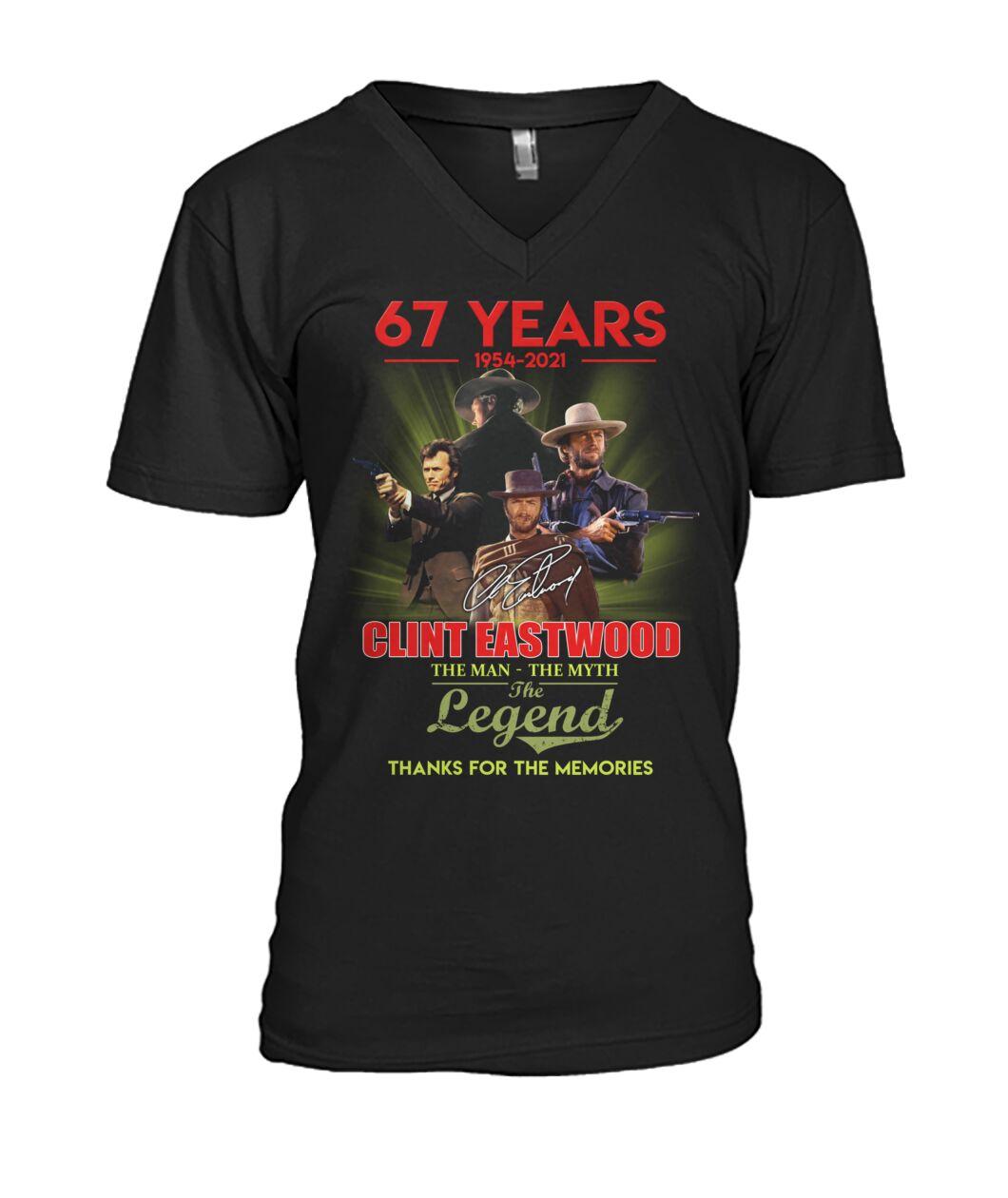 Luxury 67 Years Clint Eastwood Shirt