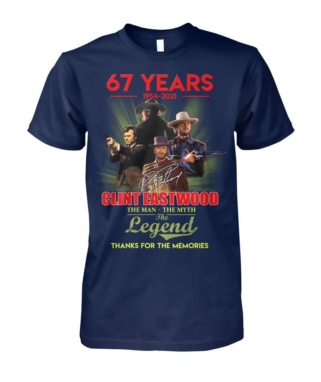 67 Years Clint Eastwood Shirt