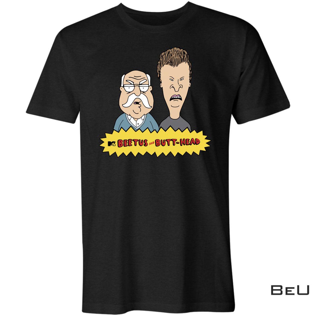 Beetus And Butt-head Mashup Parody Shirt, Hoodie, Sweatshirt