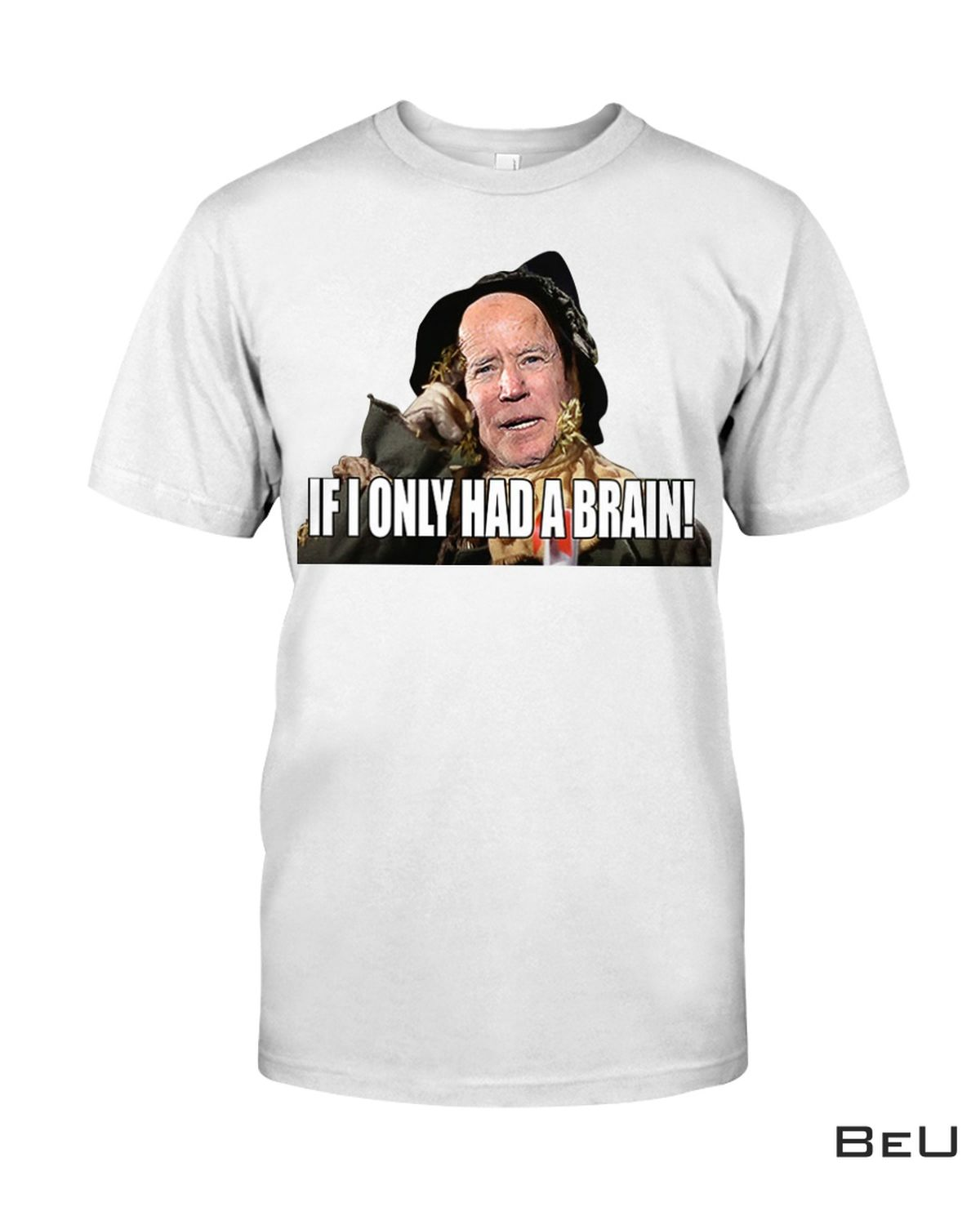 Biden Wicked Witch If I Only Had A Brain Shirt
