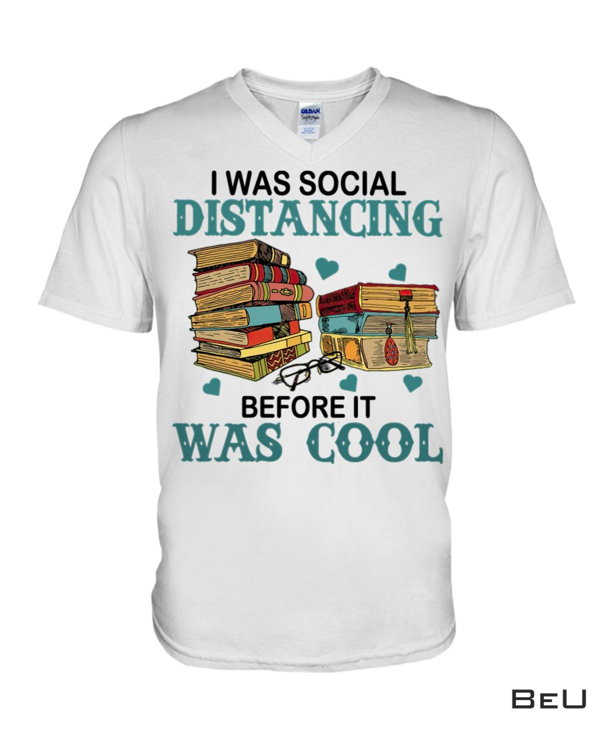Esty Book I Was Social Distancing Before It Was Cool Shirt, Hoodie, Tank Top
