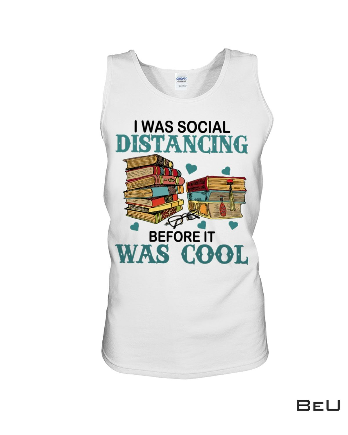 Fantastic Book I Was Social Distancing Before It Was Cool Shirt, Hoodie, Tank Top