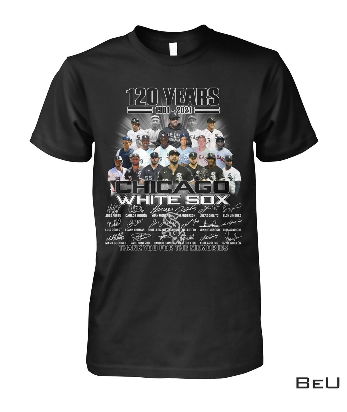 Chicago White Sox 120 Years Thank You For The Memories Shirt, hoodie, tank top