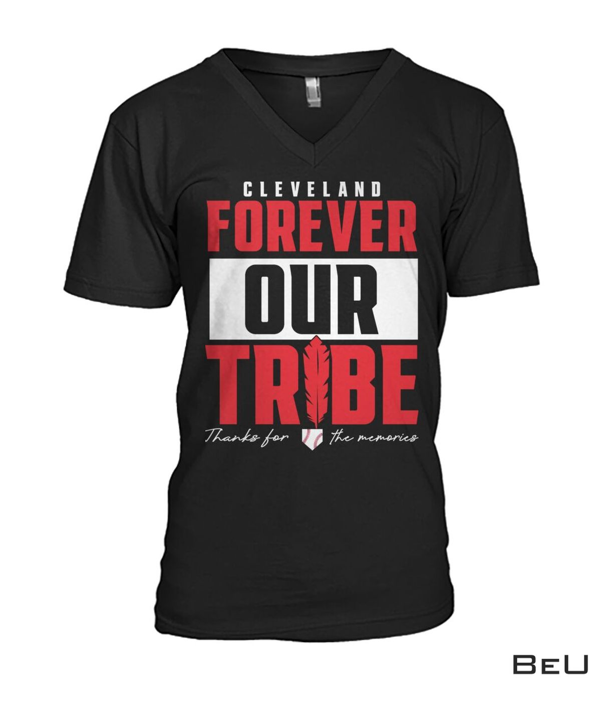 Top Cleveland Forever Our Tribe Shirt, hoodie