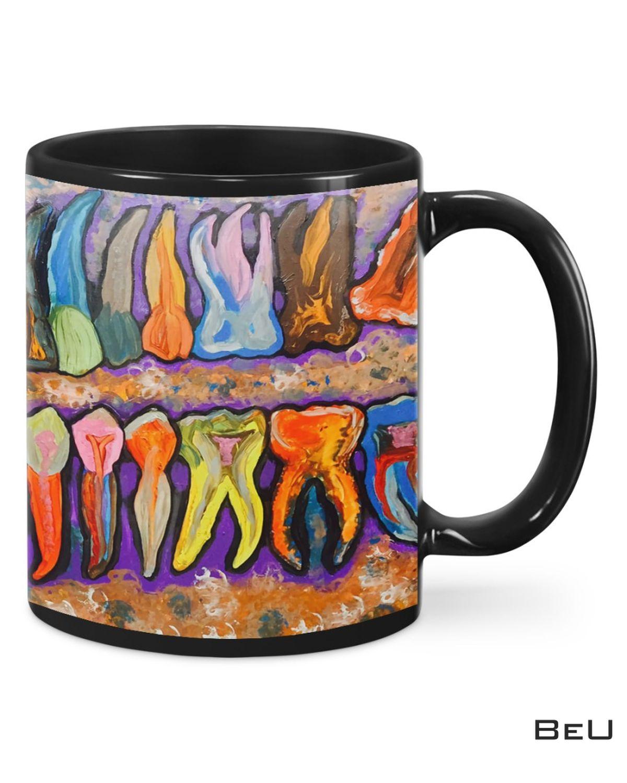 Colorful Dentist Art Images Mug