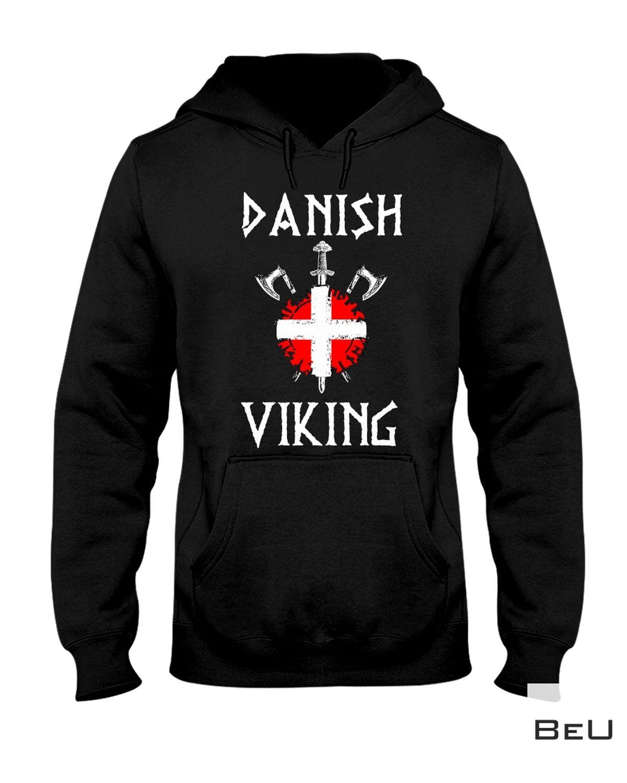Unisex Danish Viking Shirt, Hoodie, Tank Top