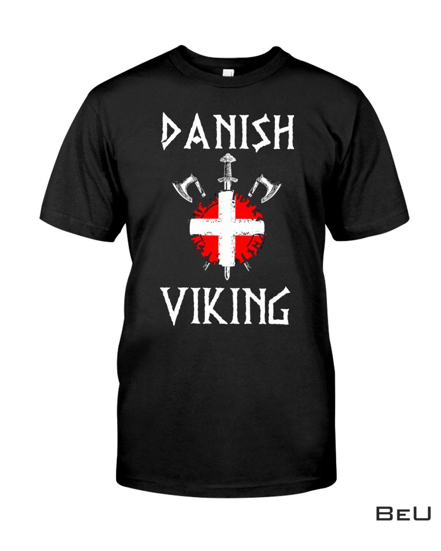 Danish Viking Shirt, Hoodie, Tank Top