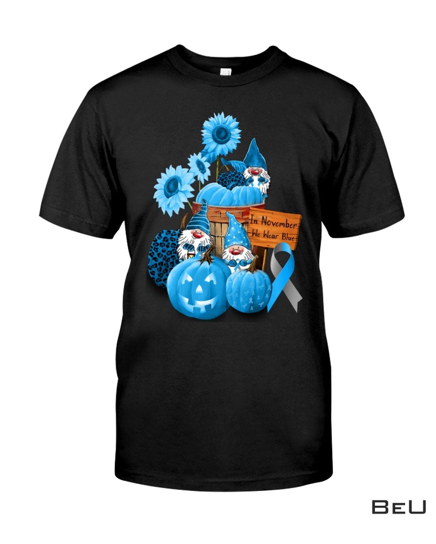 Diabetes Awareness In November We Wear Blue Shirt, Hoodie, Tank Top