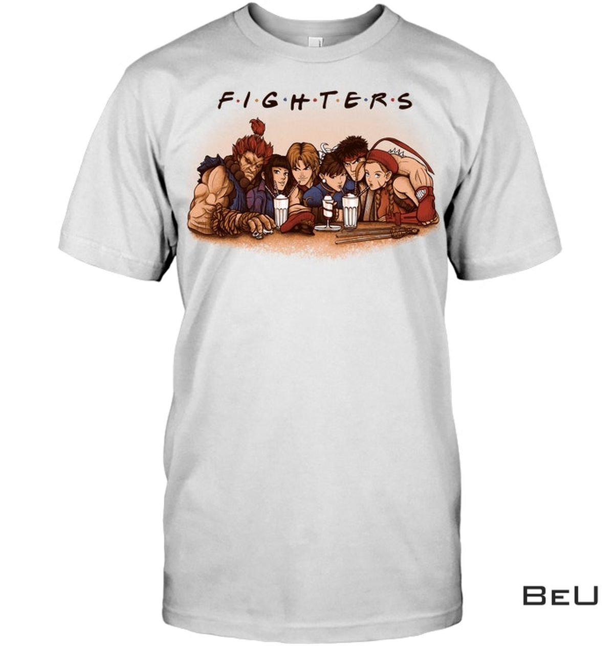 Unique Fighters Characters Shirt, Hoodie, Tank Top