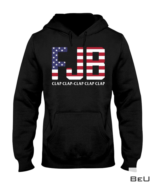 eBay Fjb Clap Clap Clap Clap Clap Us Flag Shirt, Hoodie, Tank Top