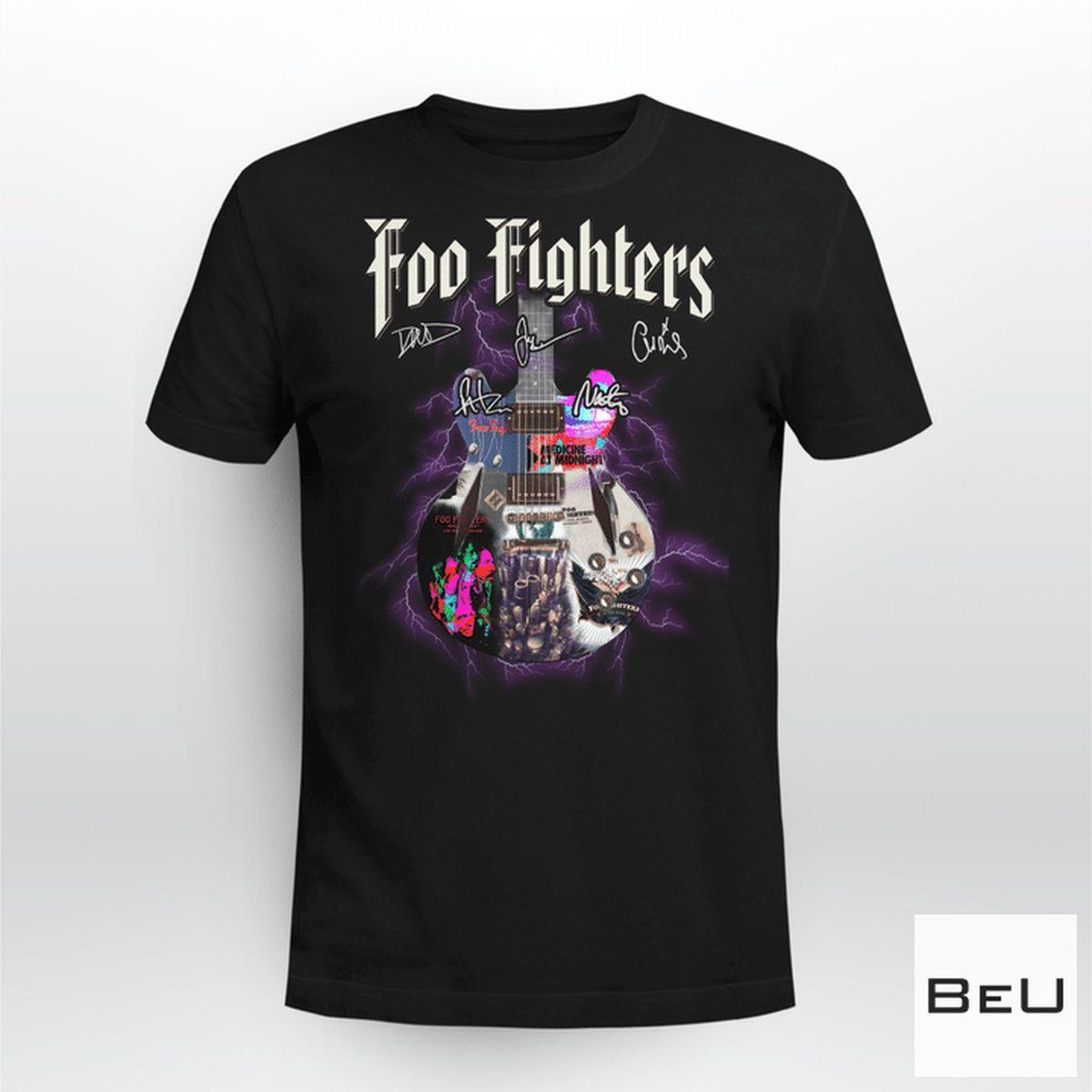 Foo Fighters Medicine At Midnight Shirt