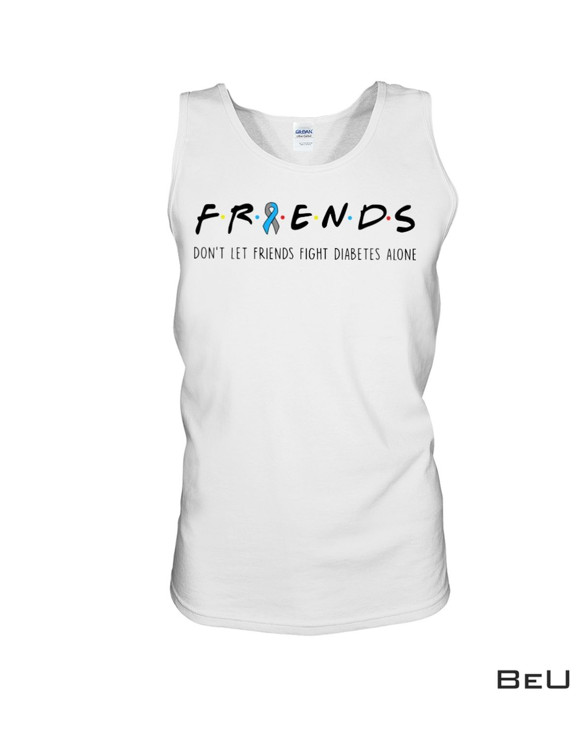Where To Buy Friends Don't Let Friends Fight Diabetes Alone Shirt