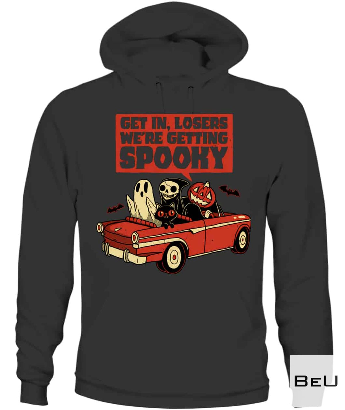 Where To Buy Get In Loser We're Getting Spoonky Shirt