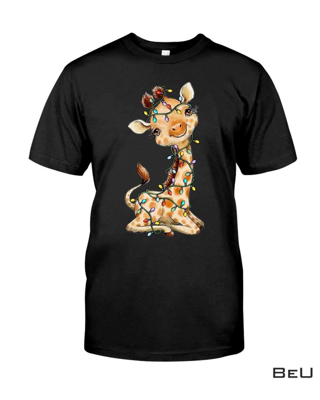 Giraffe Christmas Lovely Shirt
