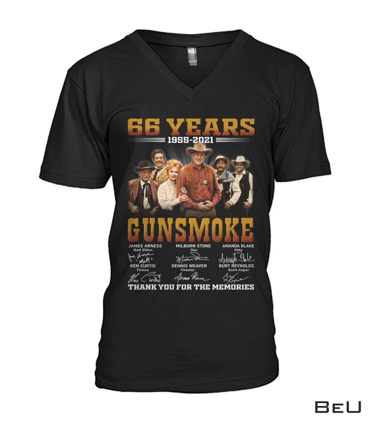 Funny Tee Gunsmoke 66 Years Anniversary Shirt