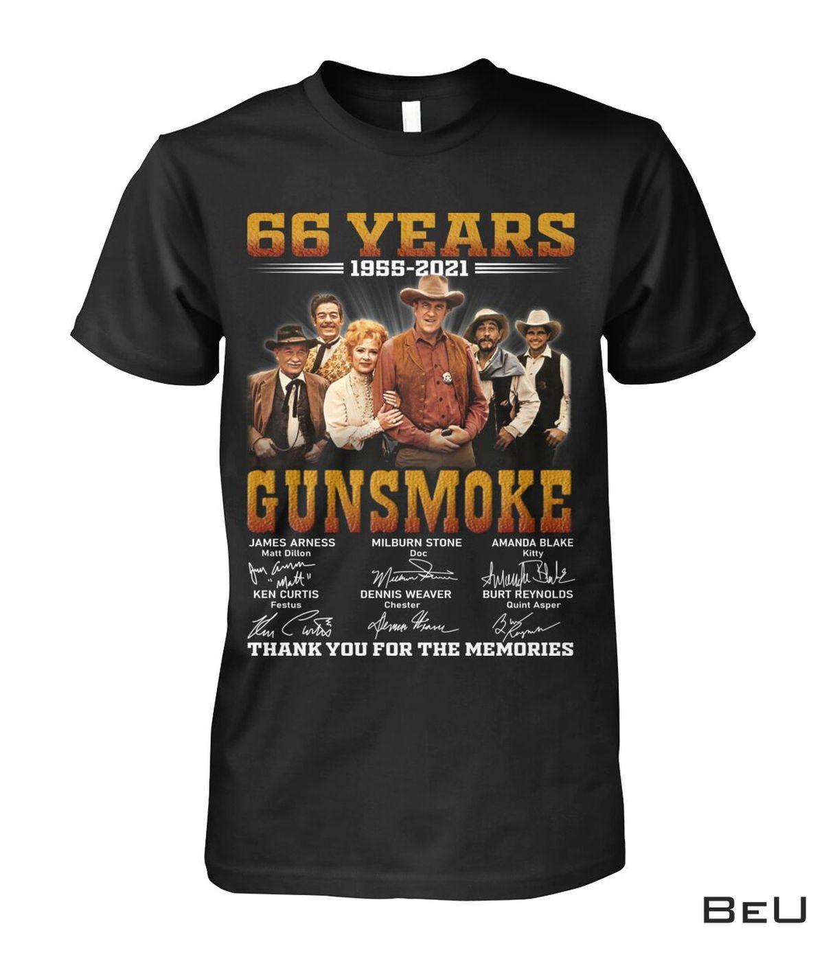 Gunsmoke 66 Years Anniversary Shirt