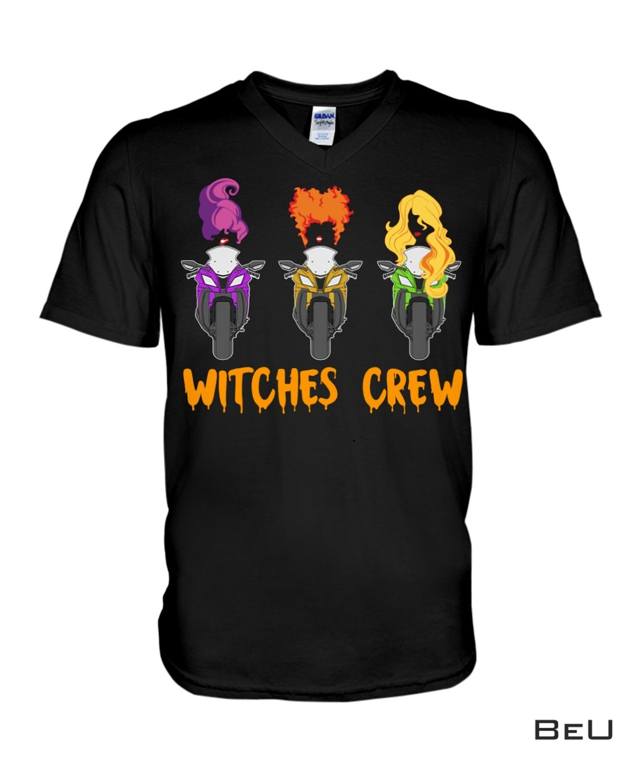 New Halloween Witches Crew Ride Superbike Shirt