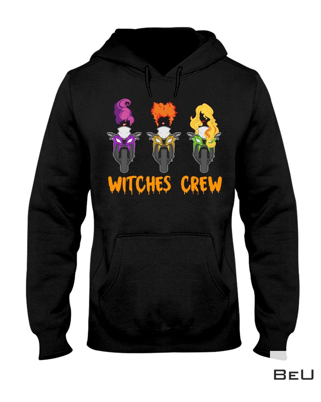Esty Halloween Witches Crew Ride Superbike Shirt