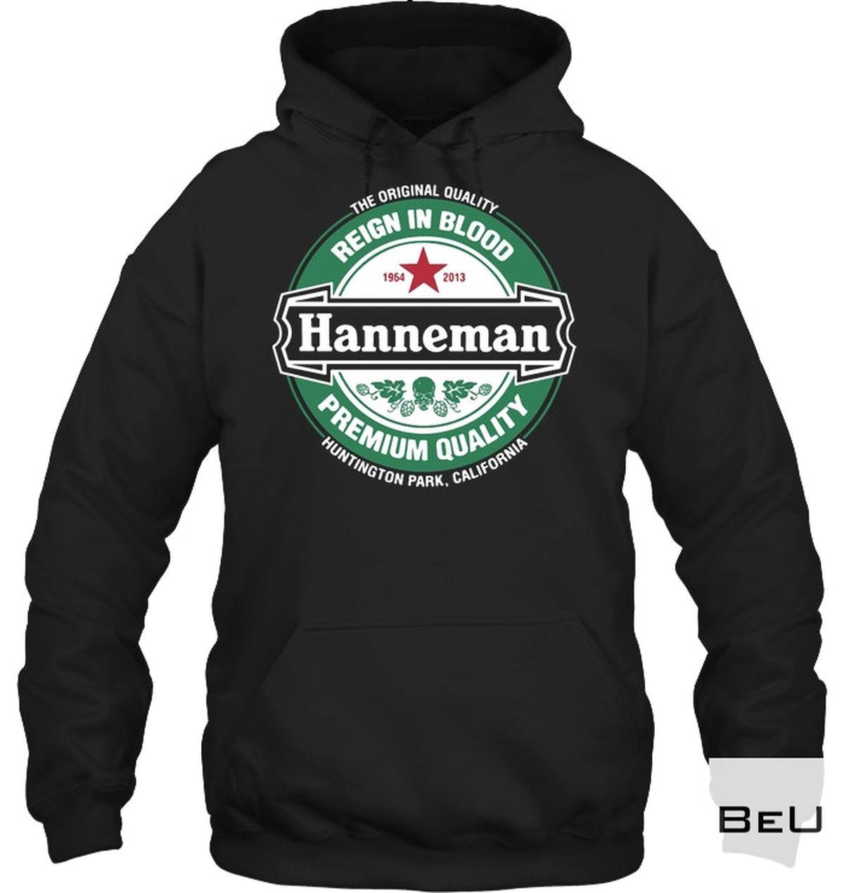 Luxury Hanneman Reign In Blood Premium Quality Shirt