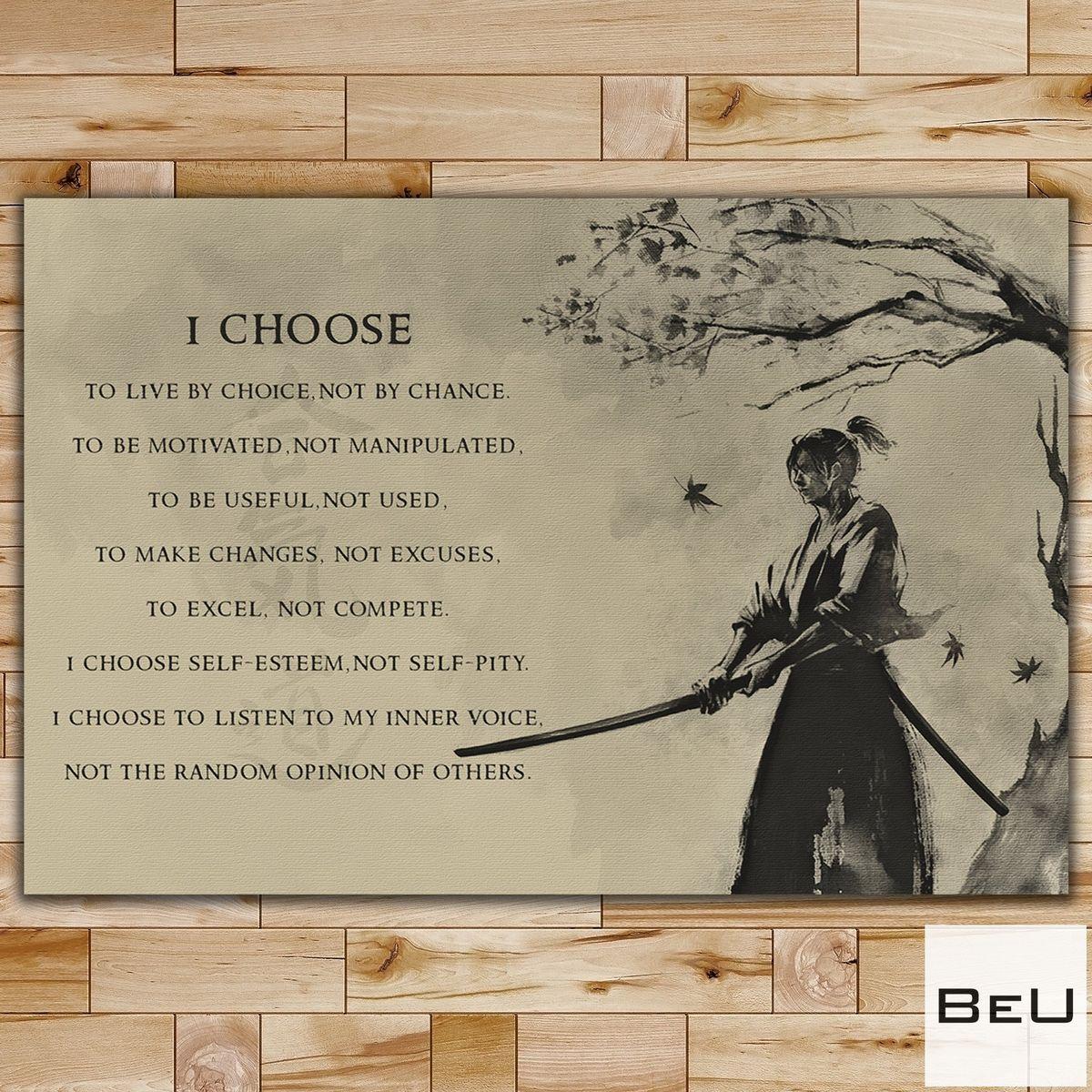 I Choose I Live By Choice