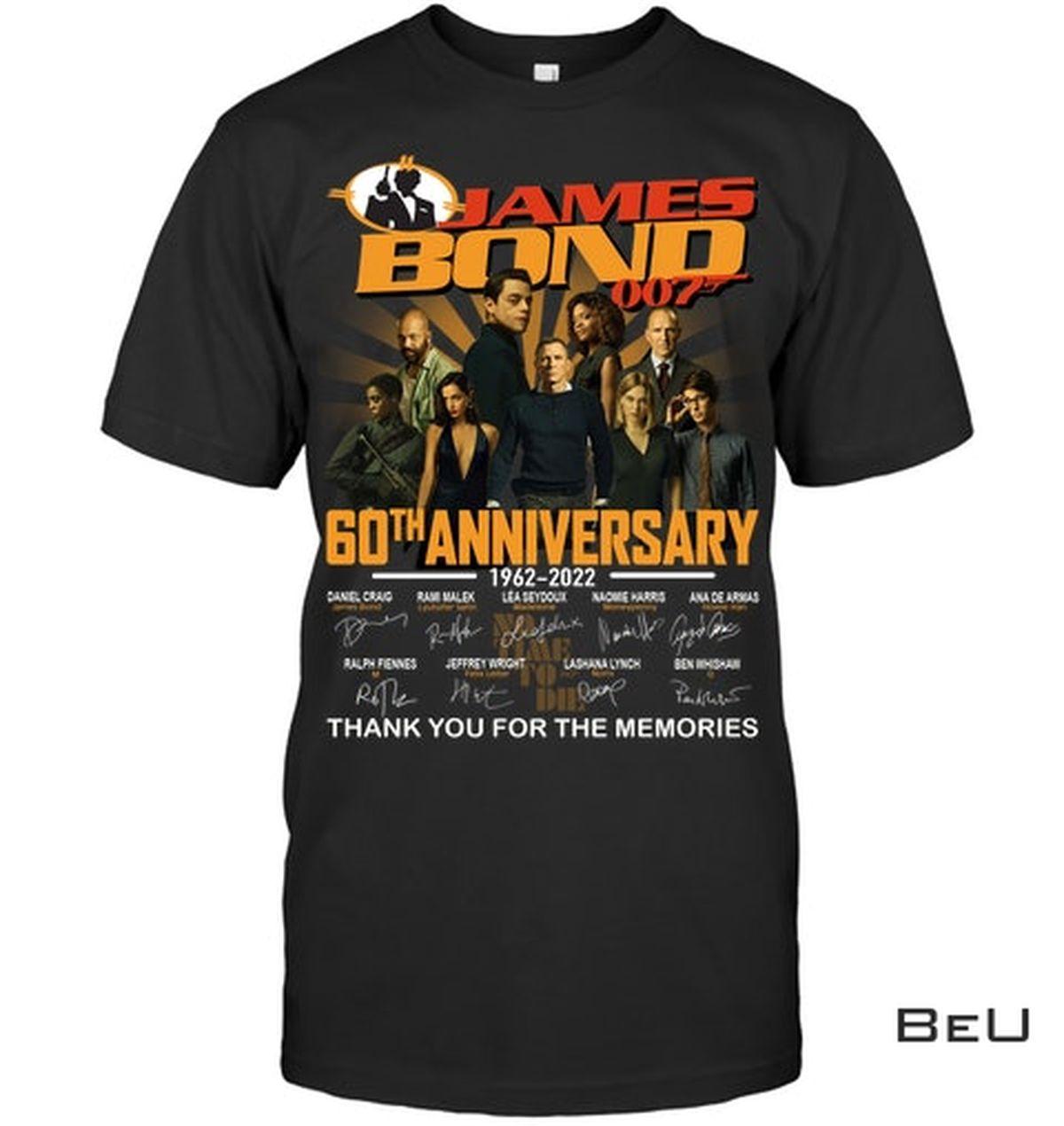 James Bond 007 60th Anniversary Shirt