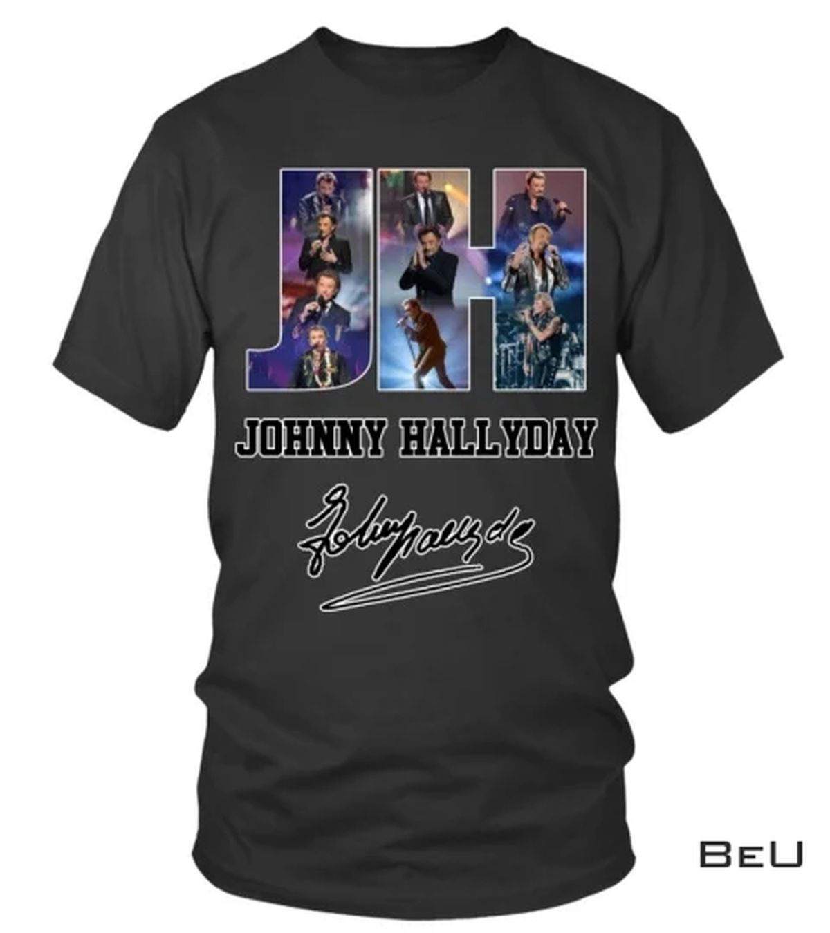 Johnny Hallyday Hand Sign Shirt, hoodie