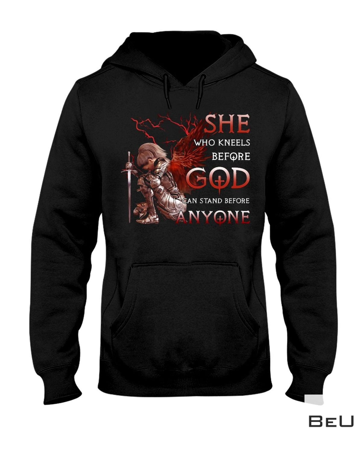 New Kneels Before God And Stand Before Anyone Shirt, Hoodie, Tank Top