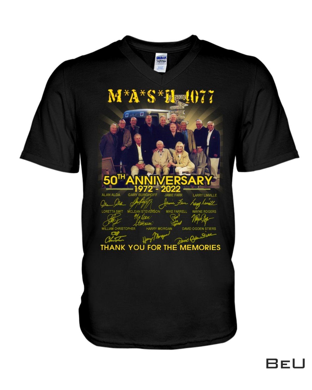 Where To Buy Mash 1077 50th Anniversary Shirt