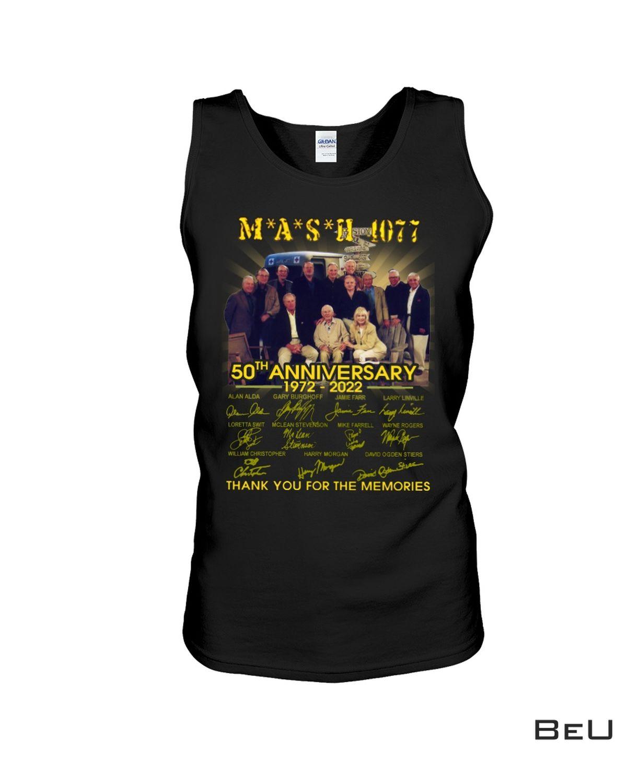 Hot Deal Mash 1077 50th Anniversary Shirt