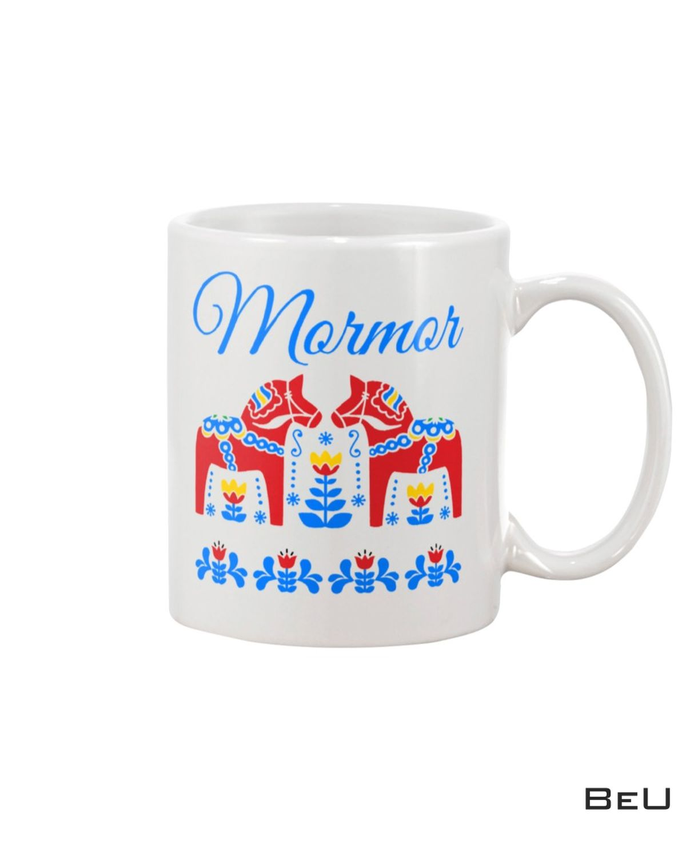Mormor Swedish Grandma Dala Horse Mug