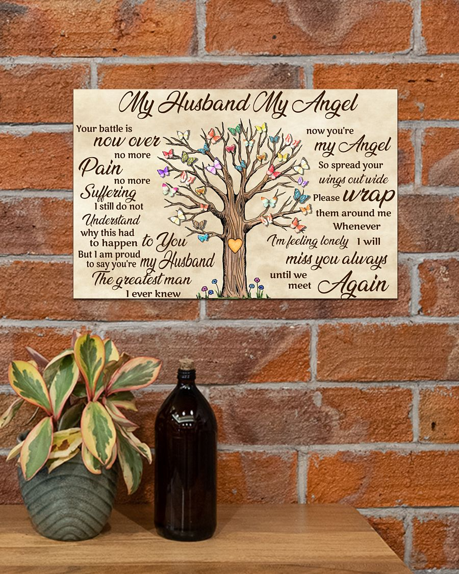 Buy In US My Husband My Angel Your Battle Is Now Over No More Pain Poster