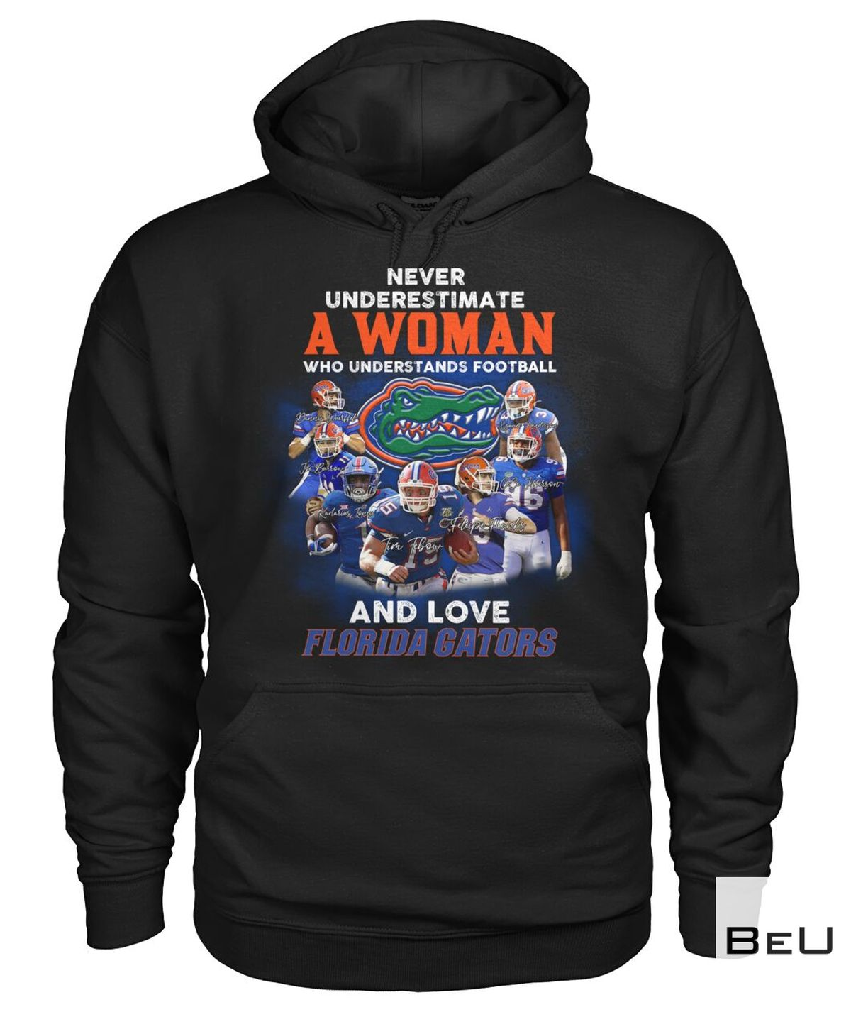 Hot Never Underestimate Who Understands Football And Love Florida Gators Shirt