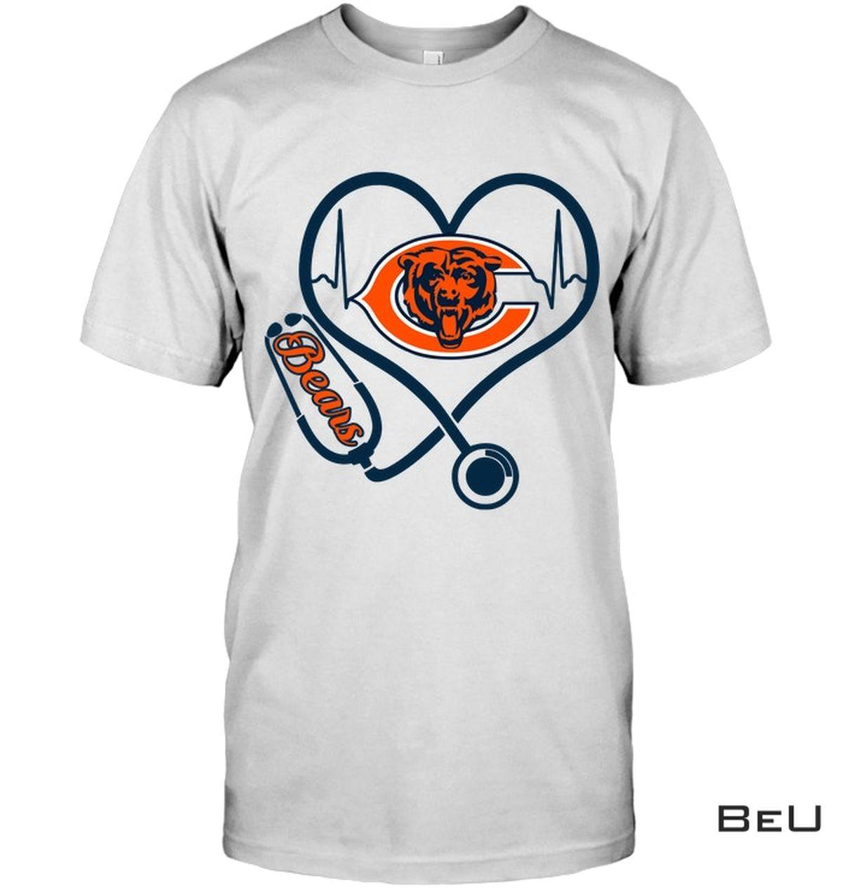 Nurse Chicago Bears Shirt, hoodie, tank top