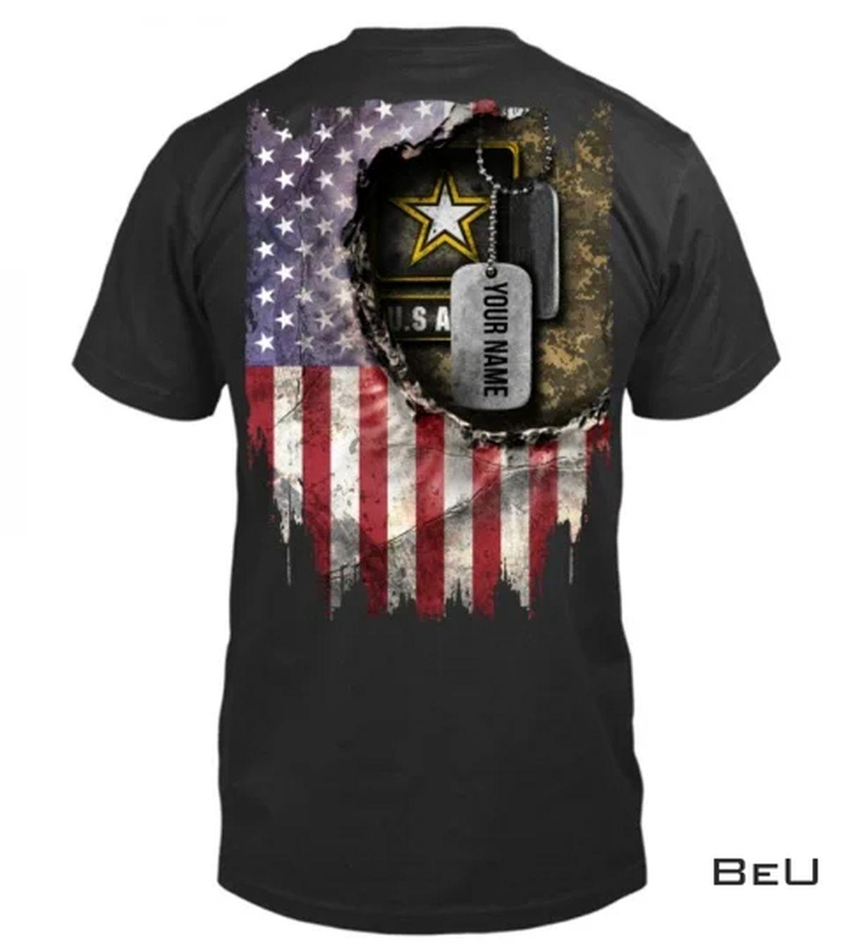 Personalized Us Veteran Shirt, hoodie, tank top