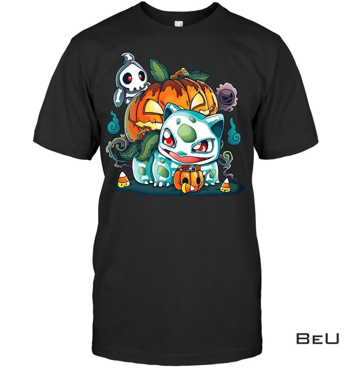 Pokemon Bulbasaur Pumpkin Shirt, hoodie, tank top