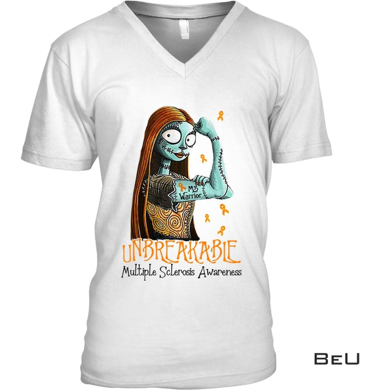 Only For Fan Sally Unbreakable Multiple Sclerosis Awareness Shirt
