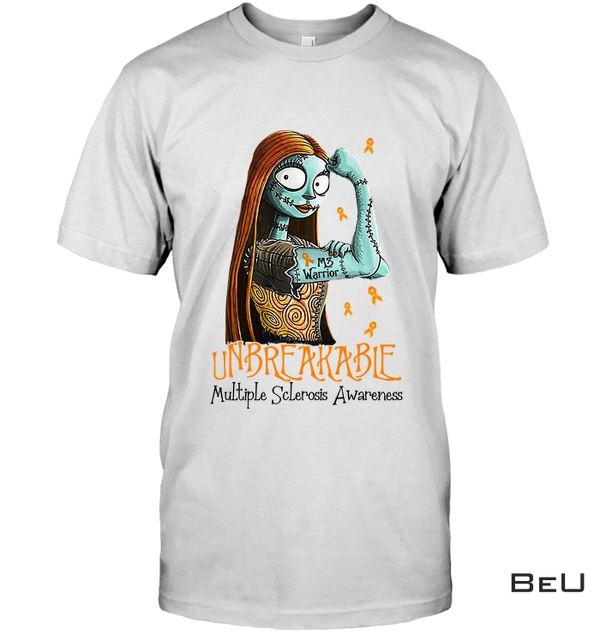 Adult Sally Unbreakable Multiple Sclerosis Awareness Shirt, Hoodie, Tank Top
