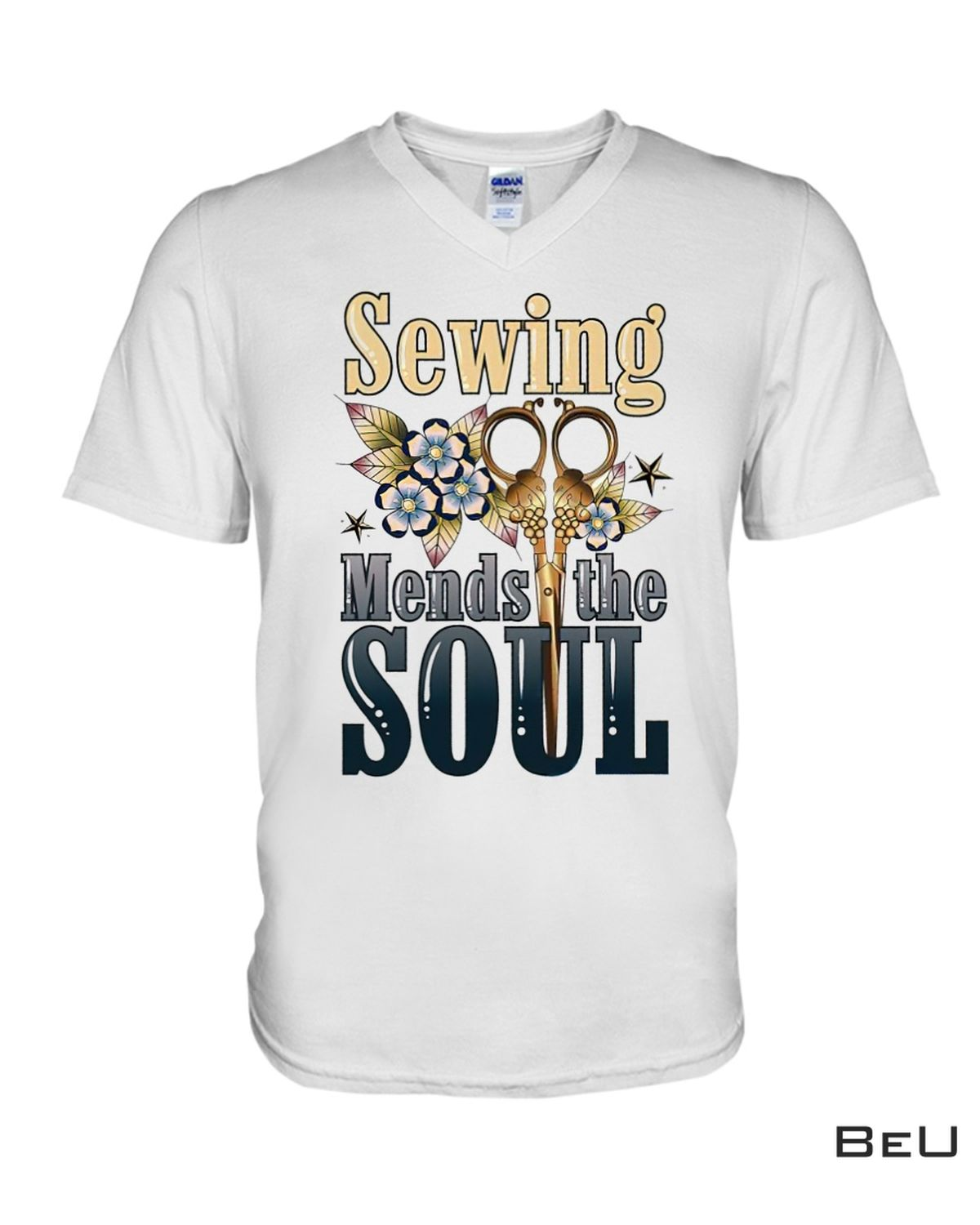 POD Sewing Mends The Soul Shirt, Hoodie, Tank Top