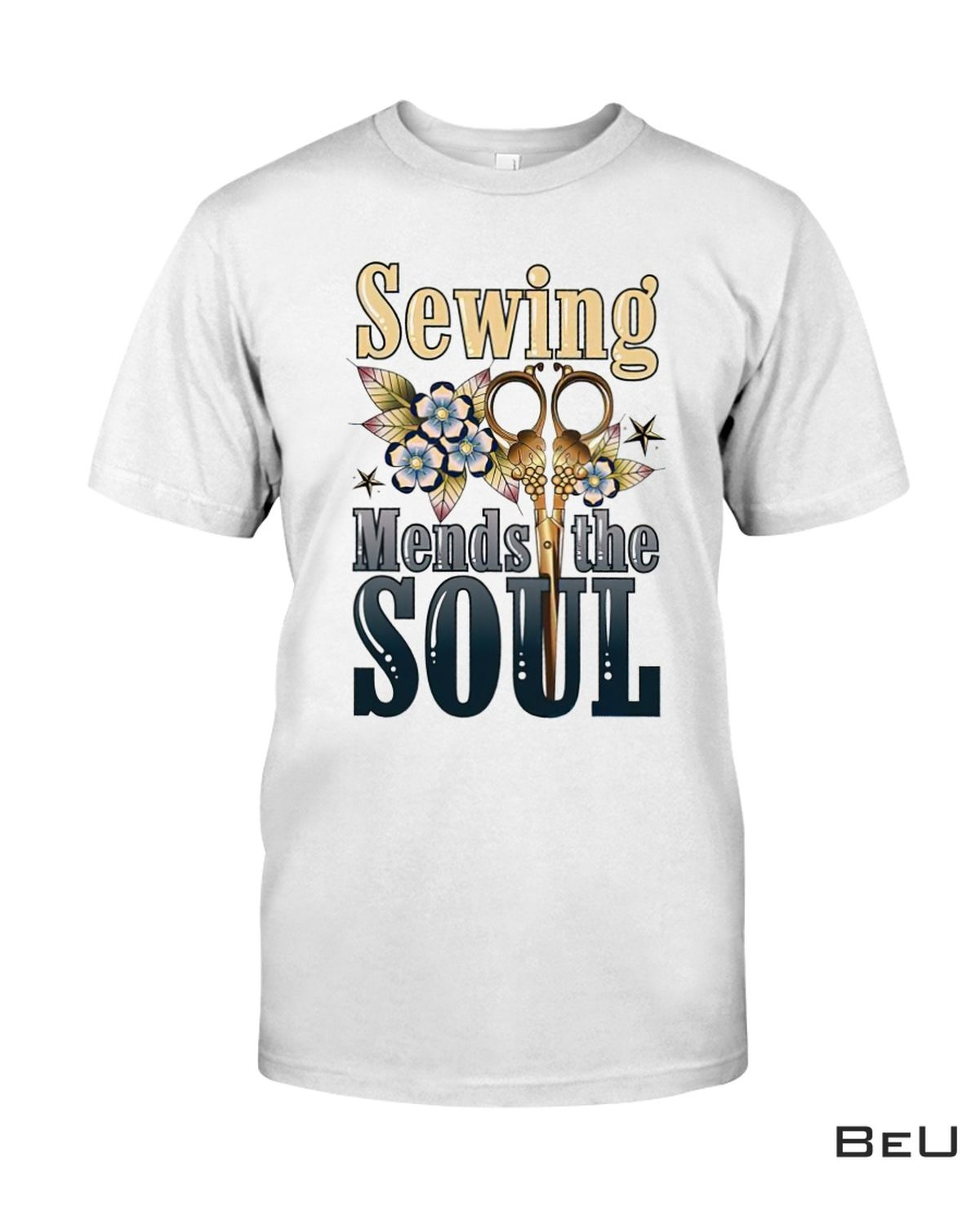 Sewing Mends The Soul Shirt, Hoodie, Tank Top