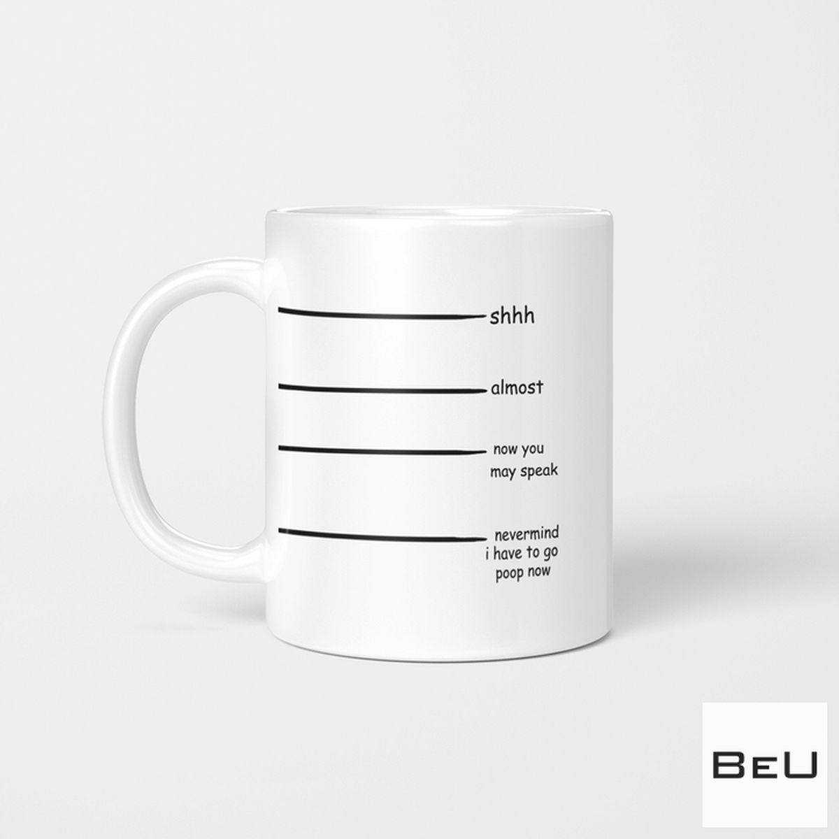 Shhh Almost Now You Can Speak Mug